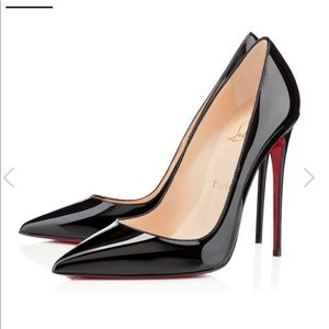 Christian Louboutin So Kate Patent Leather Heels